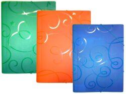 desky  3 klopy s gumou ARCHES A4 modré(8594033828448)
