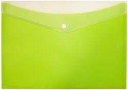 desky s drukem a kapsou ARCHES A4 zelené-polypropylenové desky na dokumenty se zadní kapsou