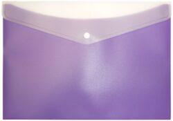 desky s drukem a kapsou ARCHES A4 fialové-polypropylenové desky na dokumenty se zadní kapsou