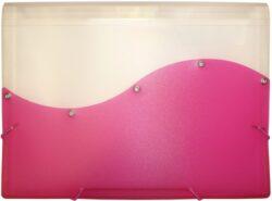 desky  13 kapes s gumou ARCHES A4 růžové