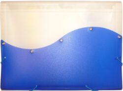 desky  13 kapes s gumou ARCHES A4 modré