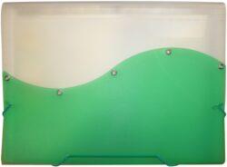 desky  13 kapes s gumou ARCHES A4 zelené