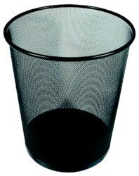 koš drátěný Europen černý malý-rozměr 26,5 x 28,5 cm