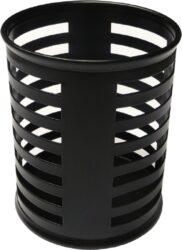 stojánek drátěný na tužky kulatý Europen  VD černý-rozměr: 8 x 10 cm