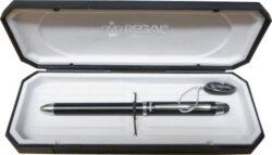 kuličkové pero Touch pen 3v1 - černé-psací souprava Regal