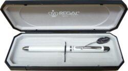 kuličkové pero Touch pen 3v1 - bílé-psací souprava Regal