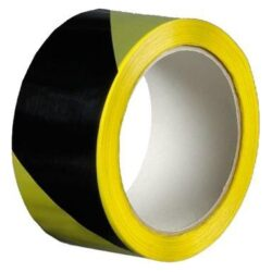 lepící páska 50 x 22 žluto černá - výstražná