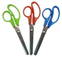 nůžky E.dětské 14cm - kul.špička - blistr