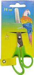 nůžky E.dětské 14cm - kul.špička - blistr(8594033829605)
