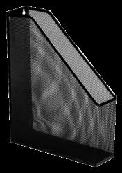 stojánek drátěný na časopisy Europen černý-25 x 32 x 7,2 cm