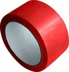 lepící páska 48 x 66 červená-PRODEJ POUZE PO BALENÍ !!!