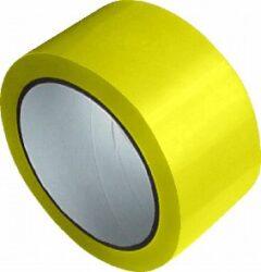 lepící páska 48 x 66 žlutá-PRODEJ POUZE PO BALENÍ !!!