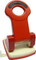 děrovačka Raion MOD-40PP červená 40l*-celokovová konstrukce 5 let záruka