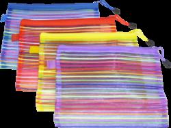 desky se zipem   A5 Europen mix barev síťované