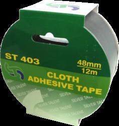 lepící páska textilní 48 x 12 bílá(8594033831097)