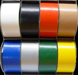 lepící páska textilní 48 x 12 červená