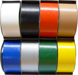 lepící páska textilní 48 x 12 hnědá-béžová