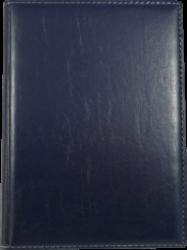 konferenční složka LUX A4 s klipem modrá(8594033831202)