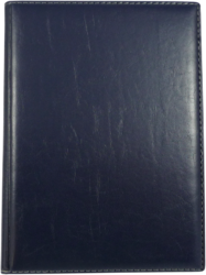 konferenční složka LUX A5 s klipem modrá(8594033831257)