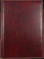 konferenční složka LUX A5 s klipem vínová(8594033831264)