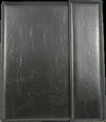 konferenční složka LUX A5 s klipem + 2xčtyřkroužek černá(8594033831325)