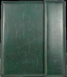 konferenční složka LUX A5 s klipem + 2xčtyřkroužek zelená(8594033831349)