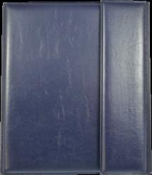 konferenční složka LUX A5 s klipem + 2xčtyřkroužek modrá(8594033831356)