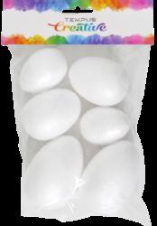polystyren vejce mix velikostí 6ks