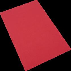 pěnová guma A4  červená EP-004