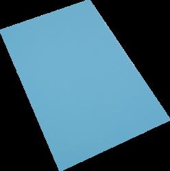 pěnová guma A4  modrá světlá EP-015