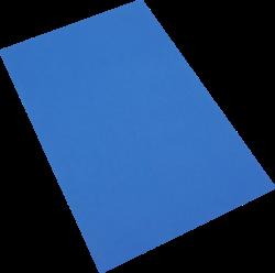 pěnová guma A4  modrá tmavá EP-017