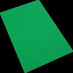 pěnová guma A4  zelená tmavá EP-013