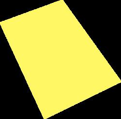 pěnová guma A4  žlutá EP-008