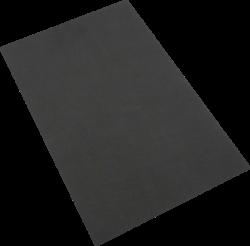 pěnová guma A4  černá EP-023