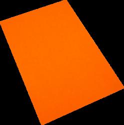 pěnová guma A4  oranžová EP-010