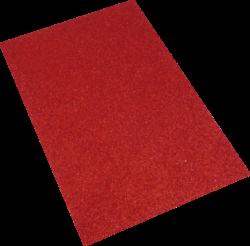pěnová guma A4 glitr červená EG-004