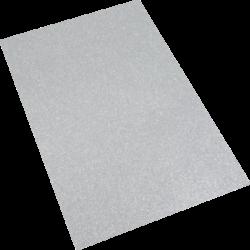 pěnová guma A4 glitr stříbrná EG-015