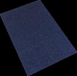 pěnová guma A4 glitr černá ocelová EG-024