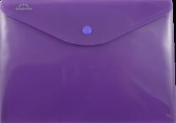 desky s drukem A5O Europen fialové-polypropylenové desky na dokumenty