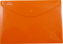 desky s drukem A5O Europen oranžové-polypropylenové desky na dokumenty