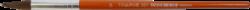 štětec Tempus kulatý lak 14-vlas pony, krátká oranžově lakovaná násadka