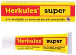 lepidlo Herkules Super 60g*-Pevnostní lepidlo v tubě s aplikátorem pro domácnost, kanceláře a domácí dílnu