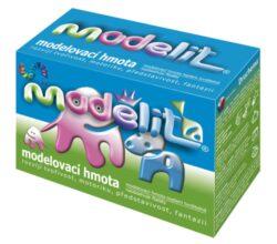model.hmota Modelit 500g-Bílá teplem tvrditelná modelovací hmota, vhodná pro děti.