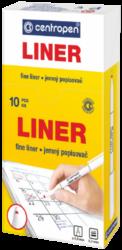 liner Centropen 2811 0,3 zelený(8595013601747)