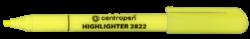 zvýrazňovač 2822 žlutý-zvýrazňovač Centropen