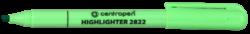 zvýrazňovač 2822 zelený-zvýrazňovač Centropen