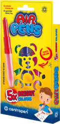 speciál Centropen 1500/62 AIR pen BRIGHT-foukací fixy na papír