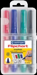 značkovač 8550 flipchart 4ks-flipchart Centropen