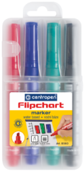 značkovač 8560 flipchart 4ks-flipchart Centropen