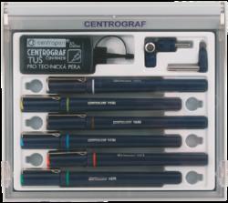 technická pera 9070/6 - 0,25;0,35;0,5;0,7;1,0;1,4-Centrograf
